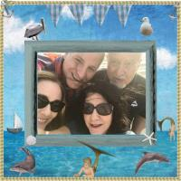Family Selfie at the Beach