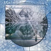 Reflections - Frozen Mtn Lake