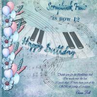 Happy 12th Birthday SBF