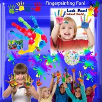Hands & Fingers for FINGERPAINTING!