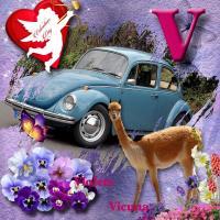V page