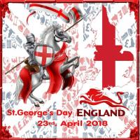 St.George's Day. England