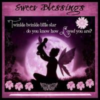Sweet Blessings_Fairy Silhouette