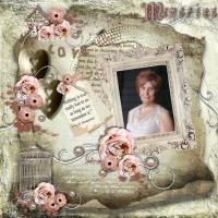Memories of mother - in my heart