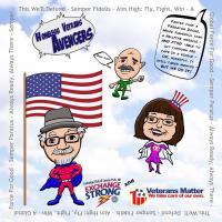 Caricature - Ken, Maureen & Tom