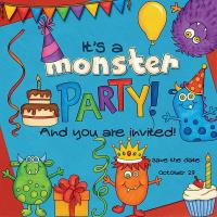 It's a monster party