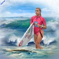 ***Surfer Babe***