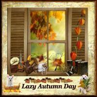 Window to a Lazy Autumn Day