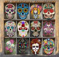 MY SUGAR SKULL COLLECTION
