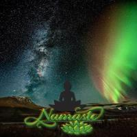 NAMASTE  AT THE MILKY WAY
