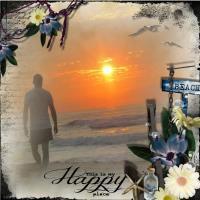 Happy place sunrise