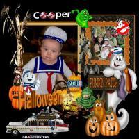 Coopers 1st Halloween