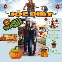 Halloween Party Joe Dirt
