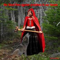 *Red Riding Hood and Wolf One*
