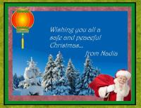 FATHER CHRISTMAS CARD 2018