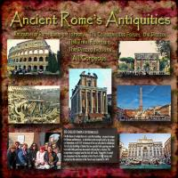 ANCIENT ROME'S ANTIQUITIES