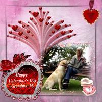 Valentine for Grandma M.
