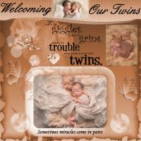 Welcome Baby Twins!!!