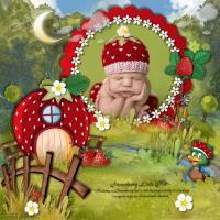 Strawberry Little Hat