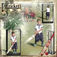 First cricket match