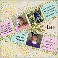 A Friend~Lori SBF