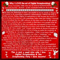 Why I LOVE Digital Scrapbooking!