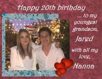 JARED'S 20th BIRTHDAY
