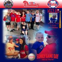 Cooper's First Phillies Game
