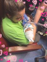 Heidi Holding Her Baby ,Mason James