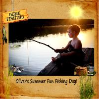 Oliver's Fishing Day