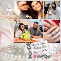 Split Frame- Heidi & Trent Wedding