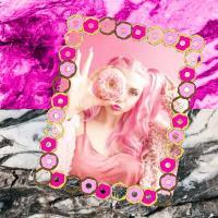 Pink & Grey + a Photo