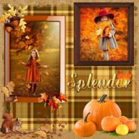 Autumn Splendor - 2 Different Frames