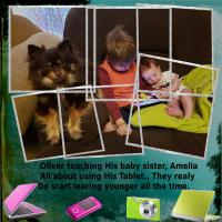 Photo Stacking- Oliver Teach Amelia