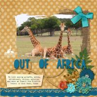 Out of Africa 2019