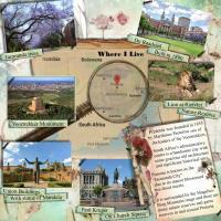 Where I live - Pretoria