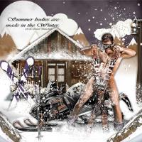 All Naturel Winter Skier