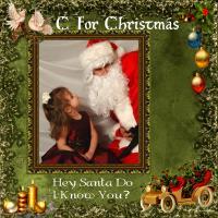 C-For Christmas-Santa Do I Know You