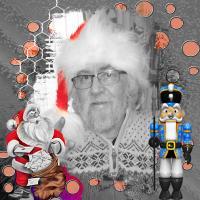 MELS CHRISTMAS  001 BW