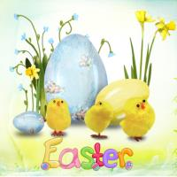 E is for Easter (2020)