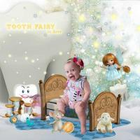 Scrap A Page tooth fairy
