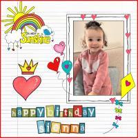 SIENNA'S BIRTHDAY