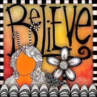 Believe In Zentangle