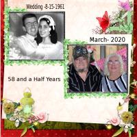 Me And My Husband-58 and Half Years