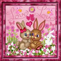 Bunnies in Love