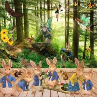 Scrapbook of the Week - Will the real Peter Rabbit please...