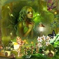 Fantasy Fairy Forest