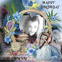 Happy Birthday Dear Shannon