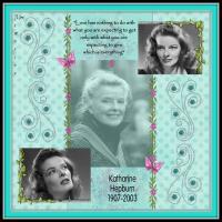 Katharine Hepburn 1930's Challenge