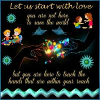 Let Us Start with Love